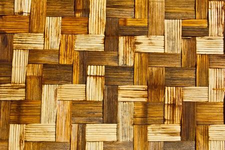 latticework: Latticework or wickerwork made from rattan Stock Photo