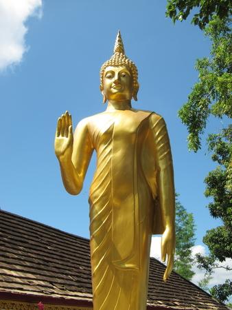 doi: Wat Phra That Doi Kham,Chiangmai,Thailand Stock Photo