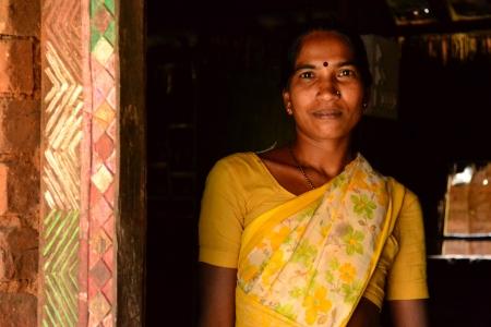 maharashtra: Indian Woman, Vikramgarh Village, Maharashtra