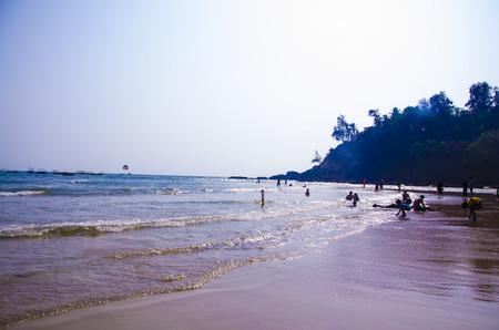 konkan: Baga Beach, Goa