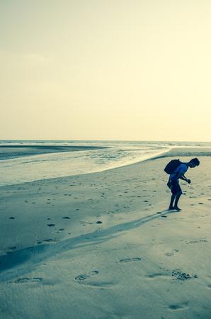 konkan: Mandrem Beach, Goa, India