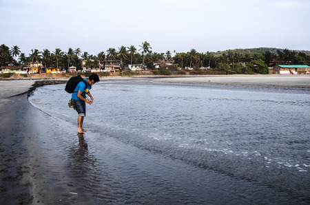 konkan: Mandrem Beach, Goa, India