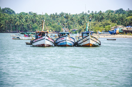 konkan: Chapora, Goa, India Editorial