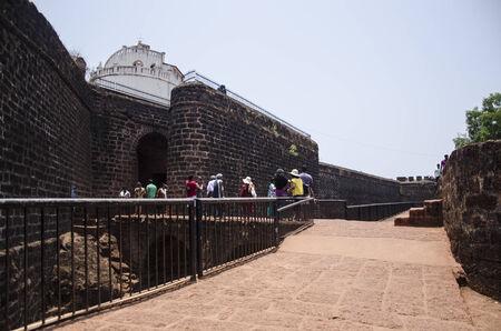 konkan: Aguda Fort, Aguda, Goa, India
