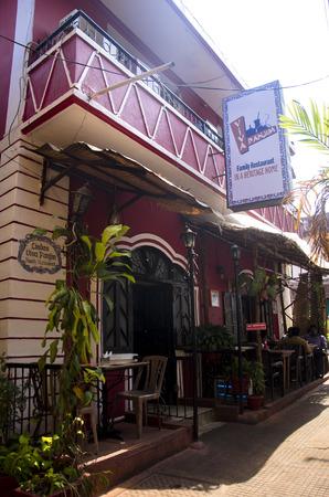 konkan: Panjim City, Panjim, Goa, India Editorial