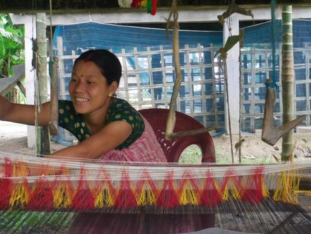 assam: Handloom Weaver, Majuli Island, Assam