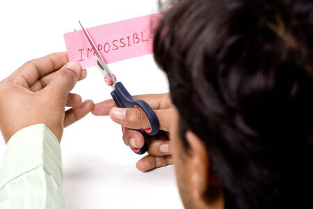 possible: Make I m possible to impossible by cutting