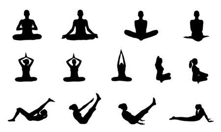 Indian yoga girl photo