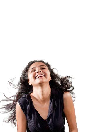 enjoy of beautiful Indian girl