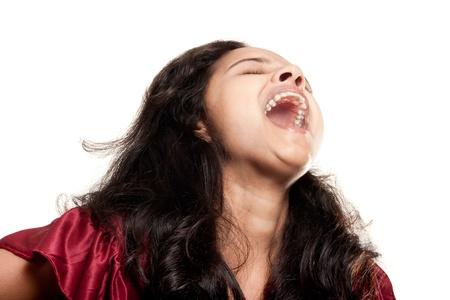 beautiful joyful Indian girl photo