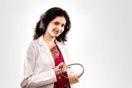 Indian beautiful  female doctor