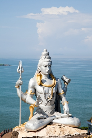 karnataka: Lord Shiva idol Stock Photo