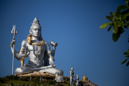 Lord Shiva idol photo