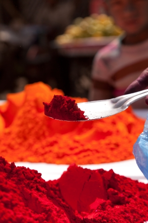 festival occasion: Different colors for sale in india on the occasion of holi  holli festival