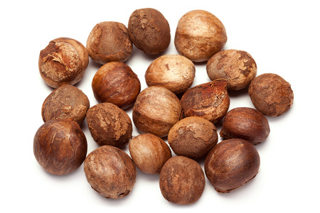 Collection of brown Betel nut unroasted untreated (Areca catechu)