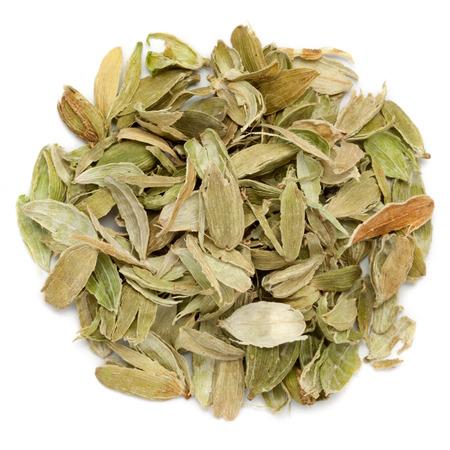 Dried Organic peels of True Cardamom.