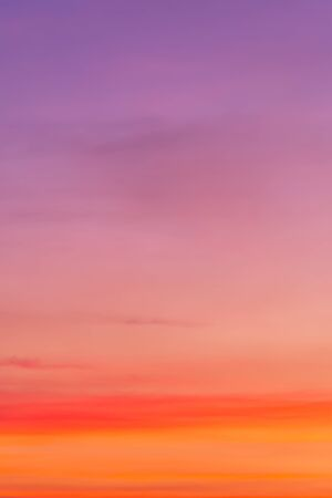Bright vibrant Pink colors romantic sky - Spring and Summer holiday