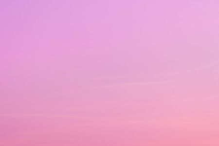 Pink pastel sky tone with copy space