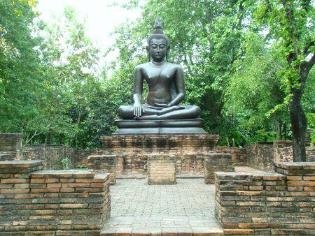 ratchaburi: Buddha statue in Wax Museum Siam Ratchaburi Thailand