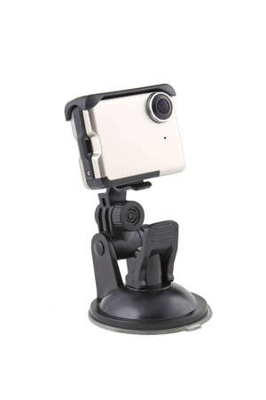 Holder for electronic device  phone, gps navigation device etc   with suction cup