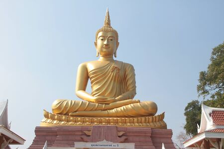belive: Gold  big buddha is main point of belive for all people in northeast thailand.