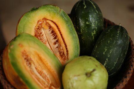 tabaco: Fruto: Tailandia cada temporada ofrece una variedad de frutas y deliciosa.