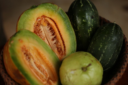 tabaco: Fruit: Thailand each season offers a variety of fruits and delicious.
