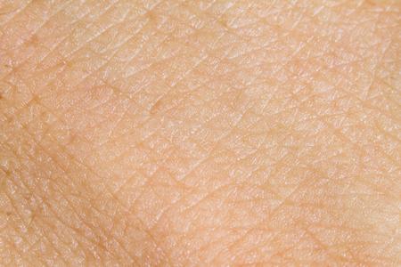 Achtergrond van de menselijke huid. macro Stockfoto