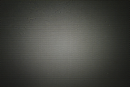 sub woofer: metal grid or grille background Stock Photo