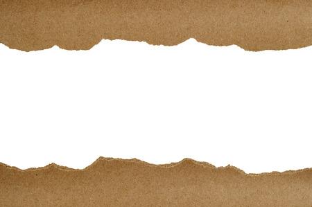 Brown paper torn Design