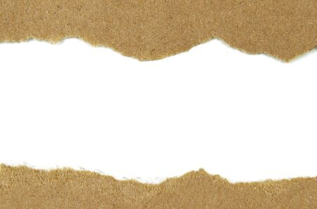 unwrapping: Brown paper torn Design