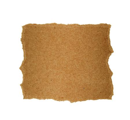 tear duct: Brown paper torn Design