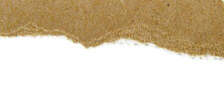 newspaper texture: Brown paper torn Design