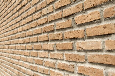 tilt: tilt wall, red bricks Stock Photo