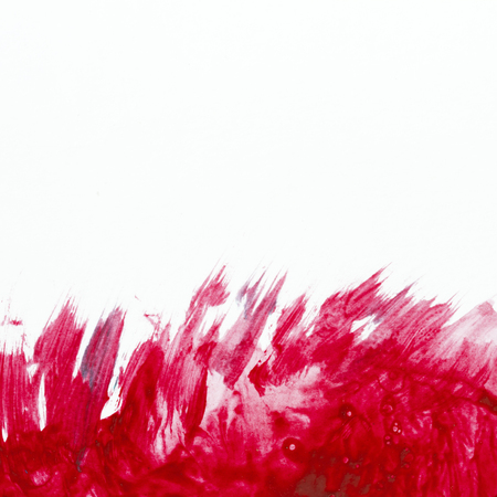 red sky: Watercolor pattern