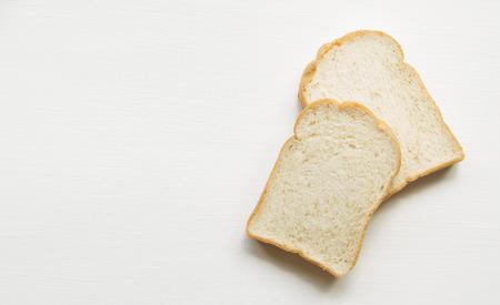 Bread on the wooden floor