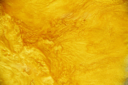 Golden acrylic background texture. Archivio Fotografico - 119057430