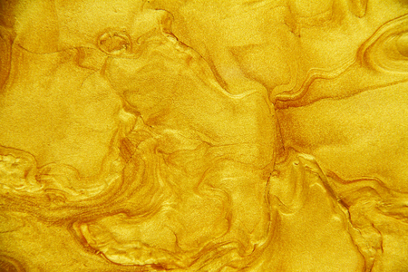 Golden acrylic background texture. Archivio Fotografico - 119057436