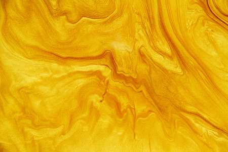 Golden acrylic background texture. Archivio Fotografico - 119057500