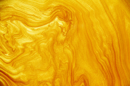 Golden acrylic background texture. Archivio Fotografico - 119057507