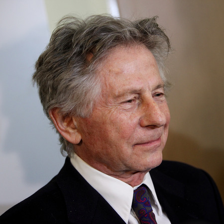 arts culture and entertainment: KRAKOW, POLAND - FEBRUARY 25, 2015 : Polish film director Roman Polanski in court in Cracow after hearing on a request for his extradition to the USA..The court is to decide whether to extradite the  Oscar-winning director to the USA for sentencing on cha