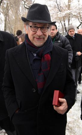 screenwriter: Oswiecim, Polonia - 27 gennaio, 2015: 70 � anniversario della liberazione di nazista concentraction tedesco e campo di sterminio di Auschwitz