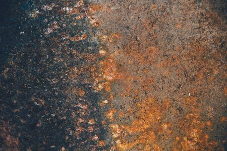 corrode: old metal iron rust background and texture