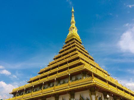 Phra Mahathat Kaen Nakhon, Khonkaen Thailand - public temple