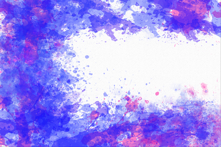 abstract watercolor background with copy space