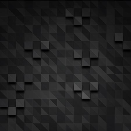 rectangle dark pixel background Stock Photo