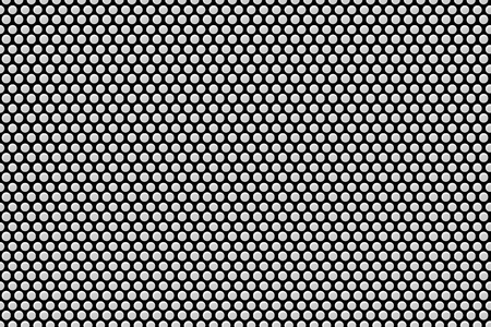 metal plate with many black dots Stock Photo - 110598972
