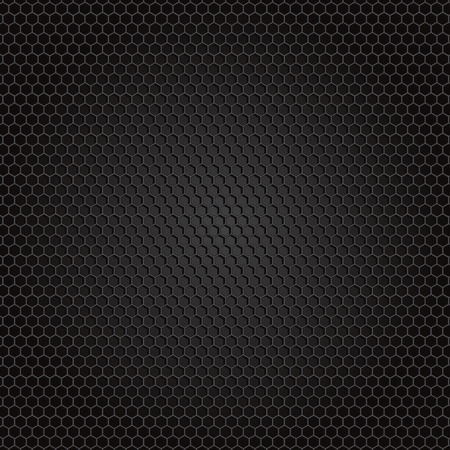 honey comb carbon fiber background, black texture Zdjęcie Seryjne