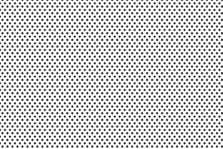 Metallplatte mit vielen schwarzen Punkten Standard-Bild