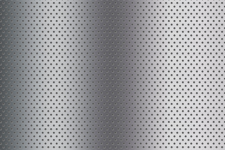 stainless steel with many dots texture background
